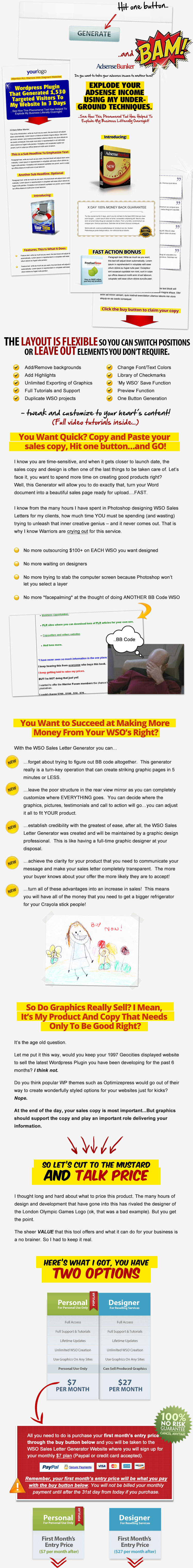 Wso sales letter generator closed wso sales letter generator demo and launch spiritdancerdesigns Choice Image
